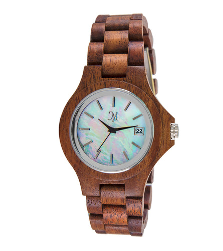 Karri Wood Mother of Pearl Face - 23758