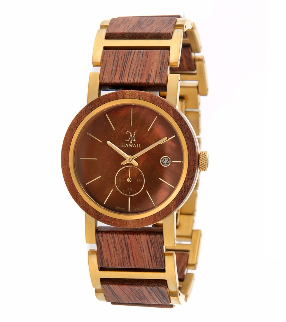 Koa Gold, Brown Mother of Pearl - 24593
