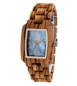 Zebrawood, Black Mother of Pearl - 26729