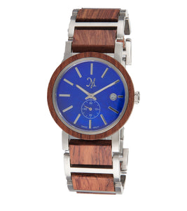 Karri wood Silver, Blue Mother of Pearl - 22734