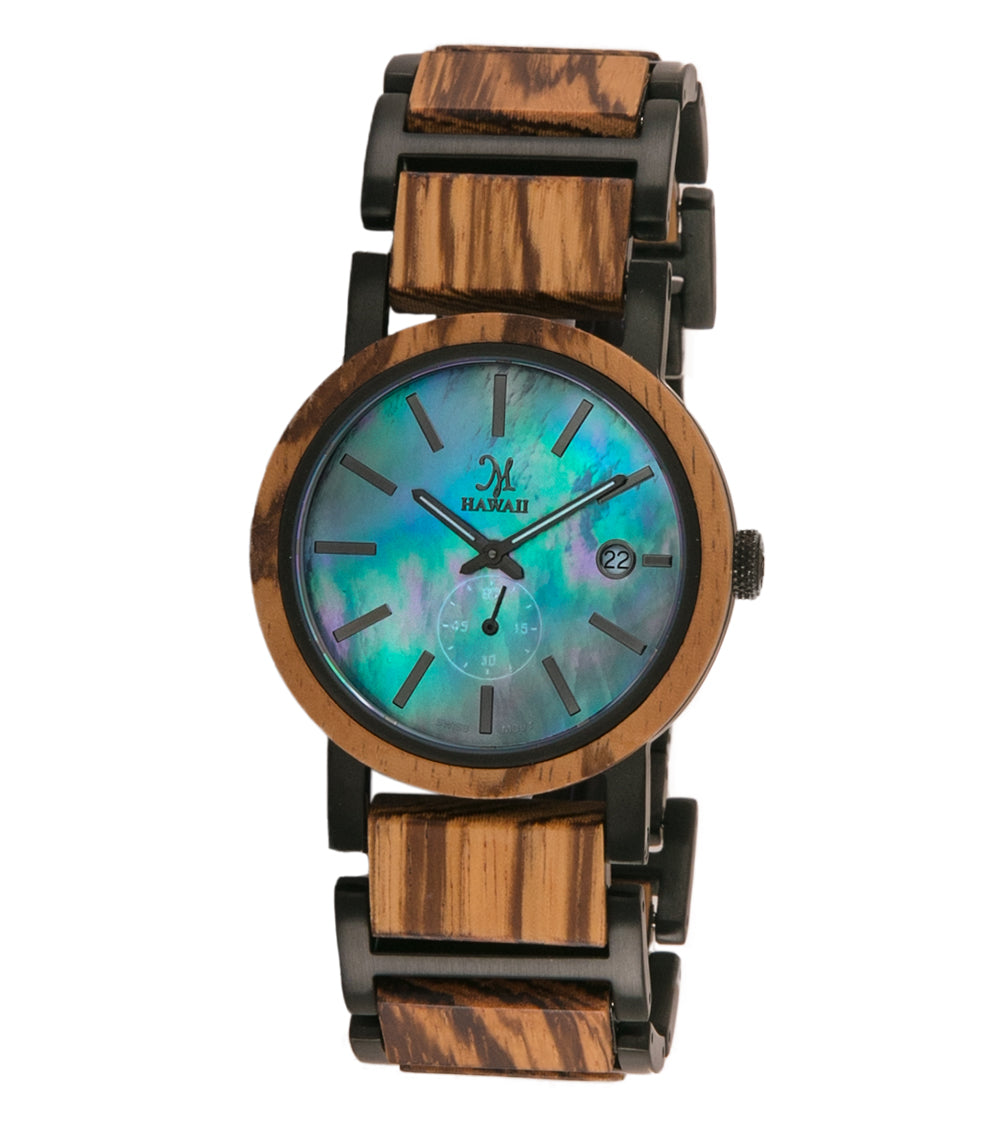 Zebrawood Black, Black Mother of Pearl- 25084