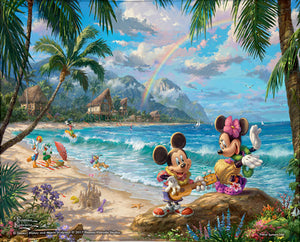 Mickey & Minnie in Hawaii by TK Studios