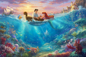 Little Mermaid Falling in Love by TK Studios