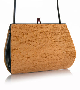 """Calliandra"" Birdseye Maple Handbag"