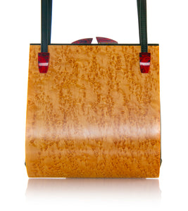 """Trillium"" Birdseye Maple Bag"