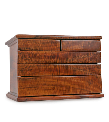 Tsumoto Koa Five Drawer Chest