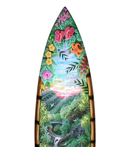 "Surfboard ""7 Sacred Pools"" #96"