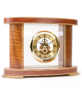 Limited Edition Koa Admiralty Clock