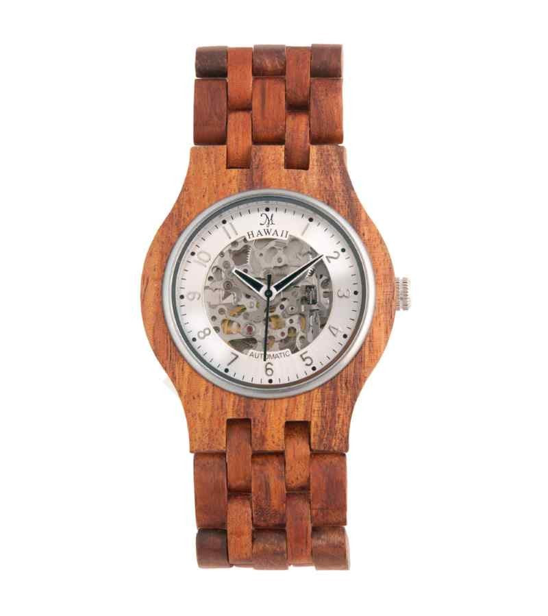 Koa Monarch Self-Winding, Automatic Silver - 14058