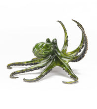 "Bronze Sculpture ""Greengo Octopus"""