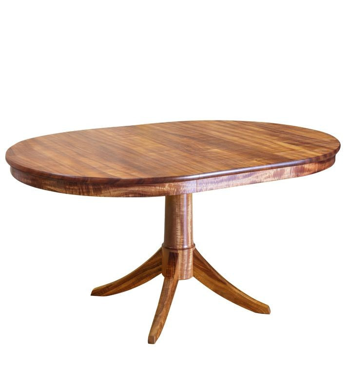 Baldwin Pedestal Dining Table - 1 Leaf (BLDWDT1C)