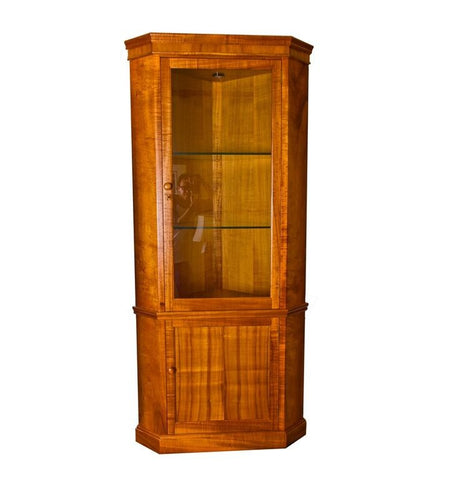 Corner Display Cabinet, Door Below