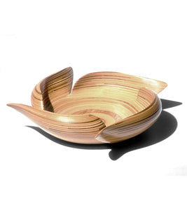 "Wood Bowl ""Escher"""