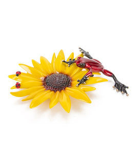 "Bronze Sculpture ""Sunflower"""