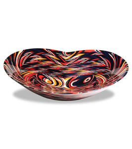 "Wood Bowl ""Harlequin"""