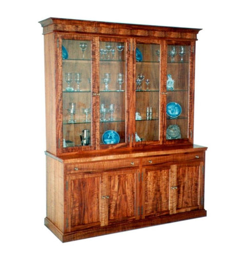 Heritage China Hutch w/ 6 Glass Shelves