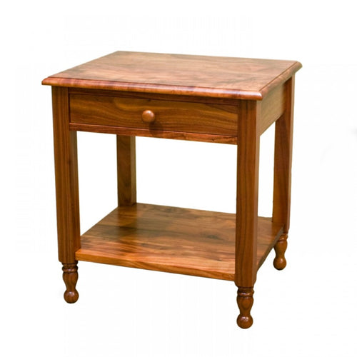 Heritage Nightstand with Drawer and Shelf