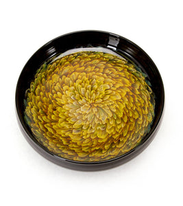 "Glass Bowl ""Marigold"""