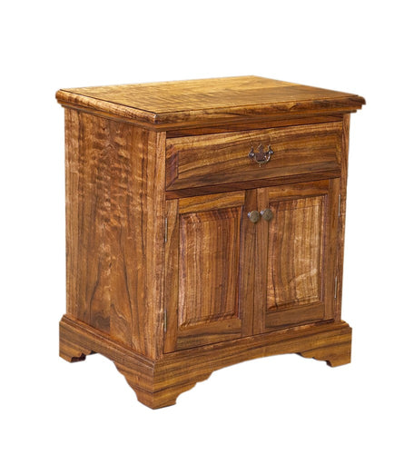 Kamuela Nightstand, 1 Drawer with Doors