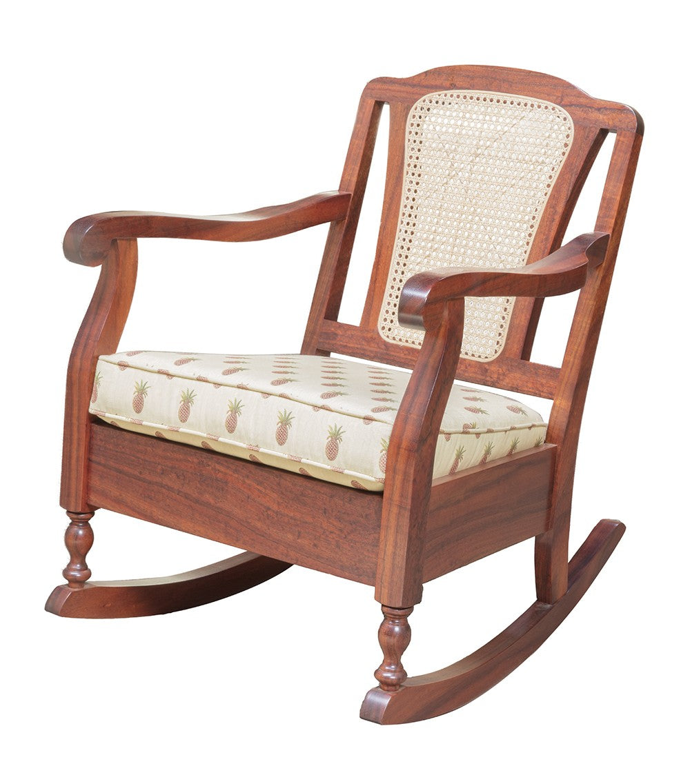 Koele Rocking Chair Cane Back