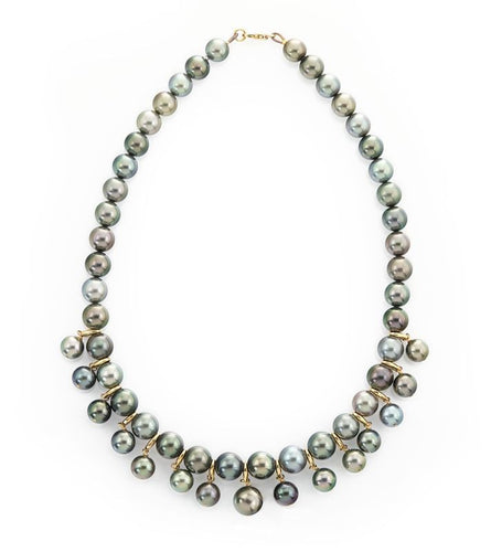 Pearl Breloque Necklace