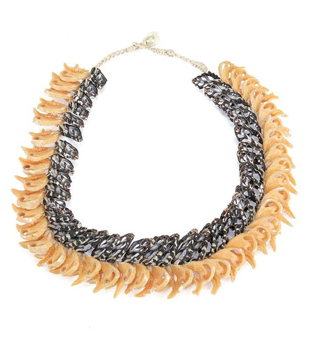 Dual Layer Shell Necklace