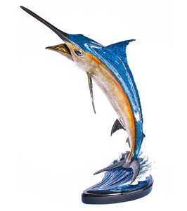 "Bronze Sculpture ""Blue Marlin"""