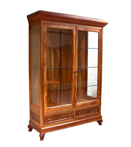 Lucas Display Cabinet, High