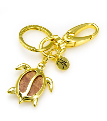 Petro Honu Key Ring Koa Fine Jewelry