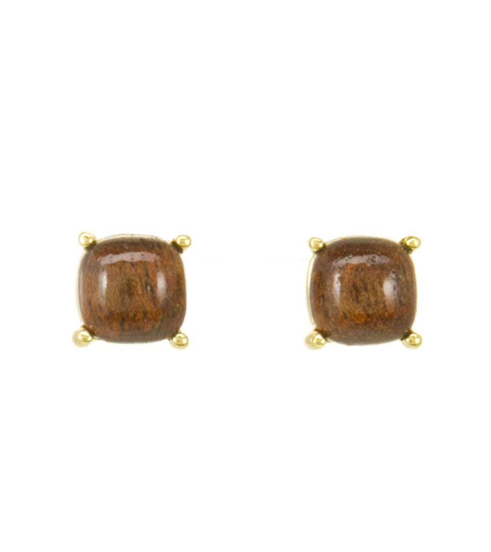 Koa Stud Earrings Koa Fine Jewelry