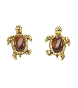 Koa Honu Earrings Koa Fine Jewelry