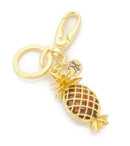 Koa Pineapple Key Ring Koa Fine Jewelry