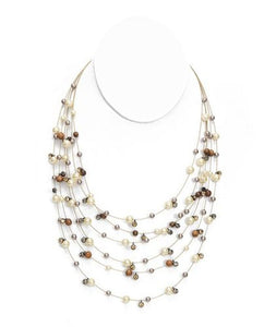 Pearl Illusion Necklace