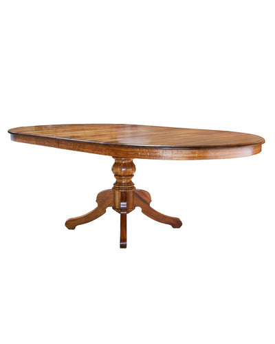 Pedestal Dining Table, Round, 2 - 18