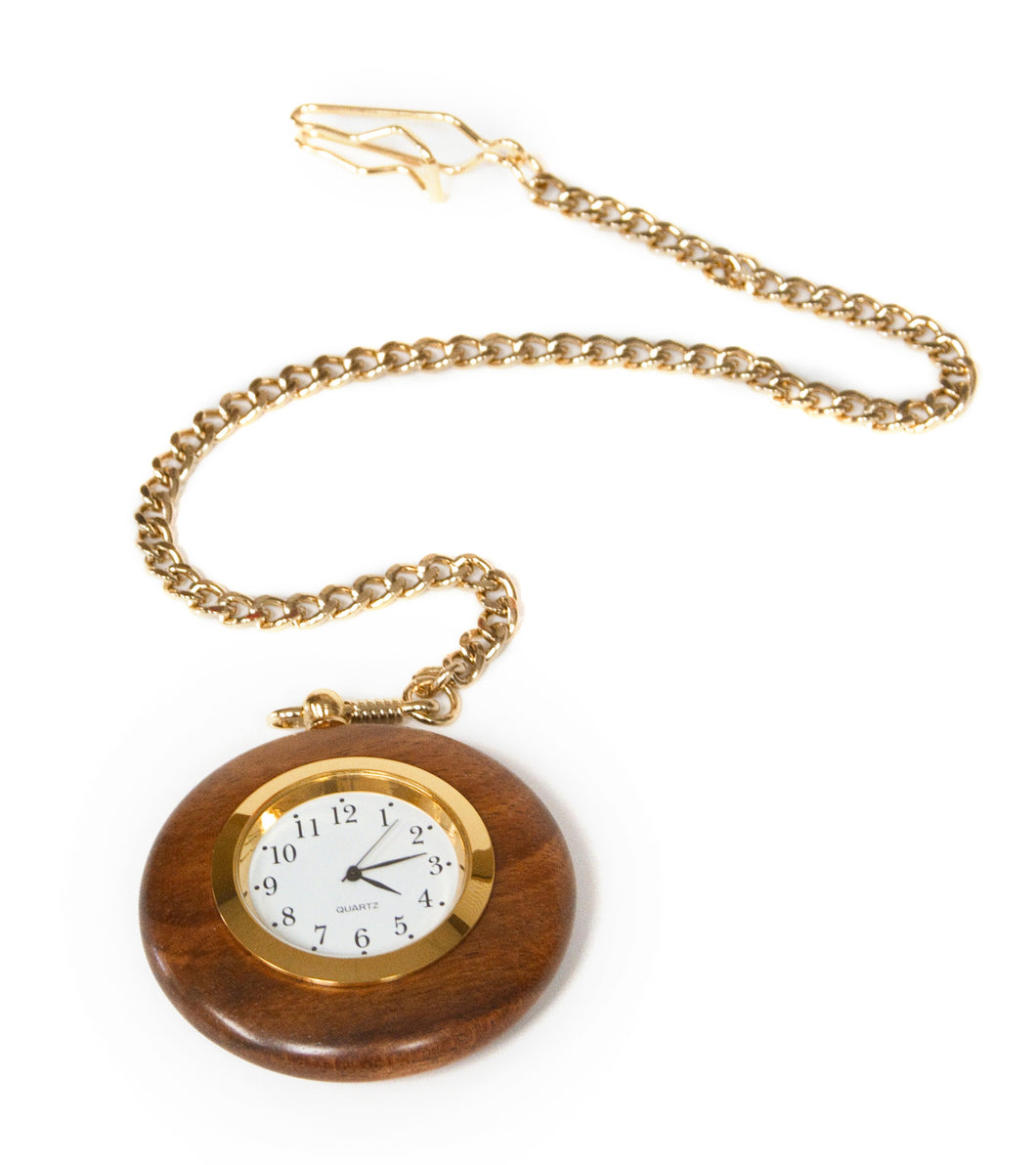 Koa Pocket Watch