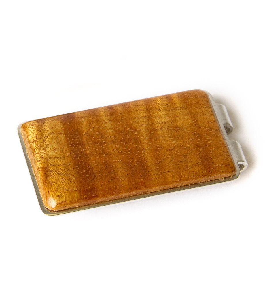 Titanium Koa Money Clip