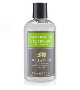 Cedarwood & Clarysage Body Wash