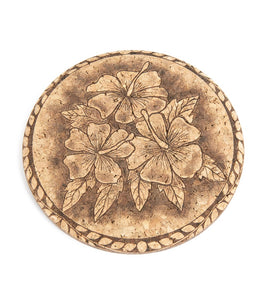 Flower Tapa Cork Coaster
