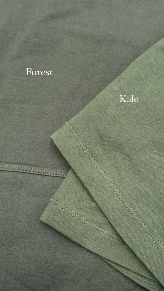 Load image into Gallery viewer, Comparison between green forest and green kale