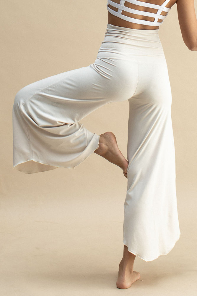 Woman wearing Layla Flares Pearl