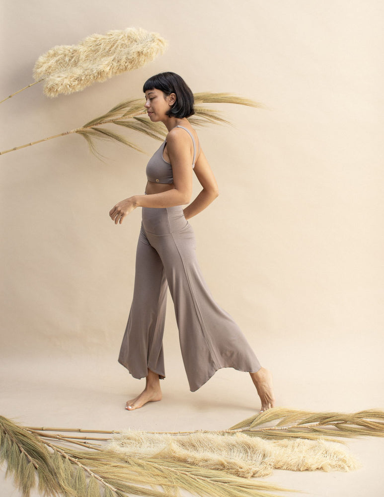Woman wearing Layla Flares Sable