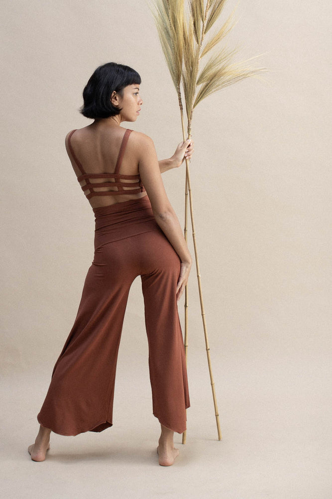 Woman wearing Layla Flares Spice