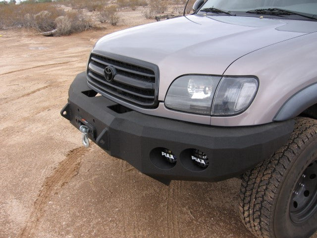 2000 2002 Toyota Tundra Front Base Bumper Iron Bull Bumpers