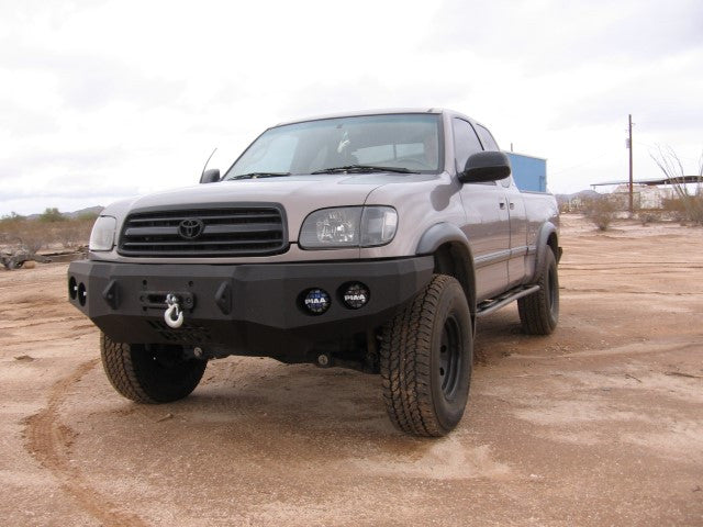 2000 2002 toyota tundra front base bumper iron bull bumpers. Black Bedroom Furniture Sets. Home Design Ideas