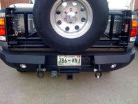 2000-2002 Toyota Tundra Rear Base Bumper