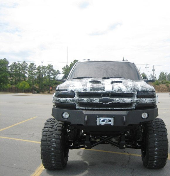 2001-2006 Chevrolet Tahoe Front Base Bumper (8 LUG ONLY)