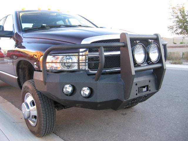 2003-2005 Dodge 2500/3500 Front Base Bumper - Iron Bull Bumpers