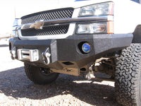 2003-2007 Chevrolet 1500 Front Base Bumper - Iron Bull Bumpers