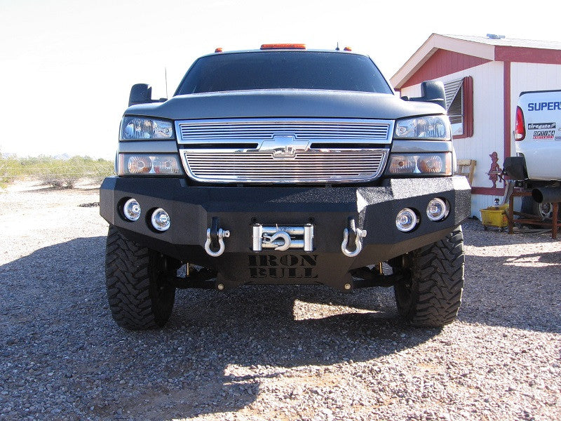 2003-2007 Chevrolet 2500/3500 Front Base Bumper