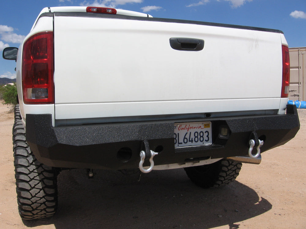2002-2008 Dodge 1500 Rear Base Bumper